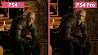 The Witcher 3 – PS4 vs. PS4 Pro Patch 1.51 Graphics Comparison & Frame Rate Test