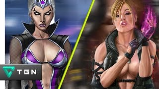 MK9 - Sonya & Sindel Tag Combos 54%-73% (Revamped)
