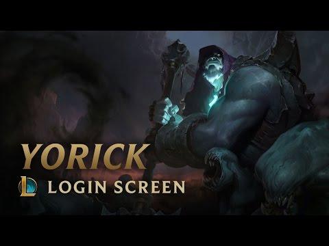 Yorick, The Shepherd Of Souls - Login Screen