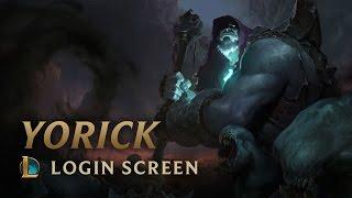 Yorick, the Shepherd of Souls | Login Screen - League of Legends