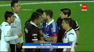 Final Copa Chile 2015 - U De Chile 1 vs Colo Colo 1 (Penales 5-3)