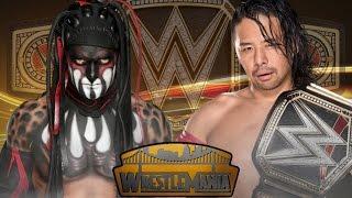 Finn Balor vs Shinsuke Nakamura for championship