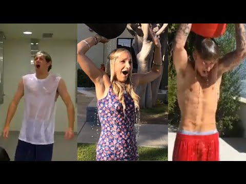 Best Celebrity Ice Bucket Challenge?! (taylor Swift + One Direction + Justin Bieber) video