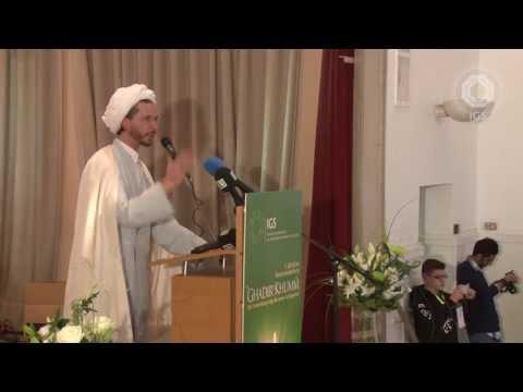 Shaikh Husayn Leibner bei der 1. jährliche Festveranstaltung Ghadir Khumm
