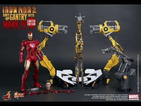 The Hot Toys Iron Man 2 Suit-Up Gantry Limited edition and Regular edition