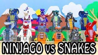 Lego - Ninjago - SEASON 01 - Rise of Snakes - Bootleg Minifigures by LELE