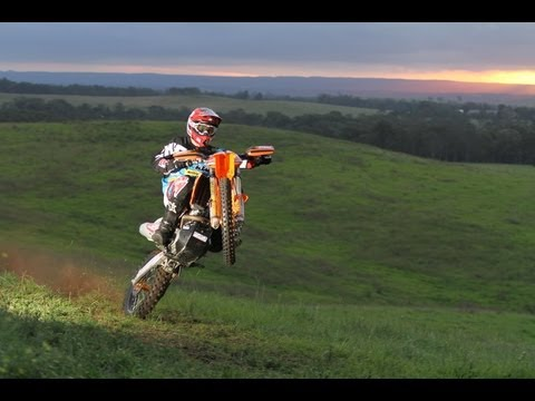 KTM 350EXC-F with Chris Hollis & Adam Riemann