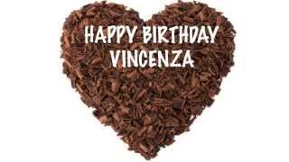 Vincenza  Chocolate - Happy Birthday