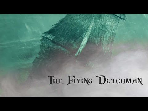 The flying dutchman - pirates of the caribbean