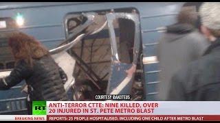 Wybuch w metrze w Petersburgu. Są zabici i ranni