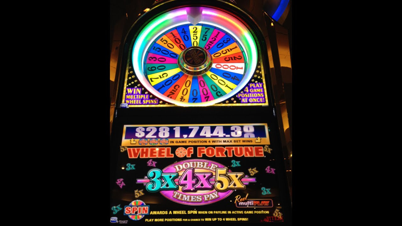 buy wheel of fortune slot machine