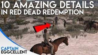 10 Of The Most Amazing Details In Red Dead Redemption