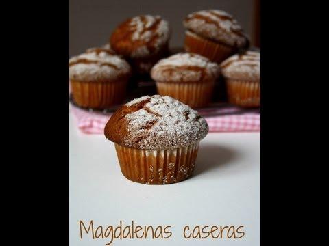 Receta de Magdalenas Caseras Paso a Paso