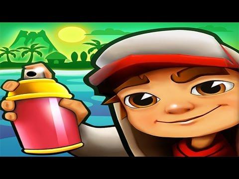 Subway Surfers Hawaii Android Gameplay #4