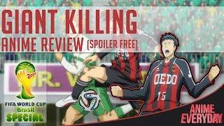 Giant Killing Anime Review - AnimeEveryday Anime Reviews