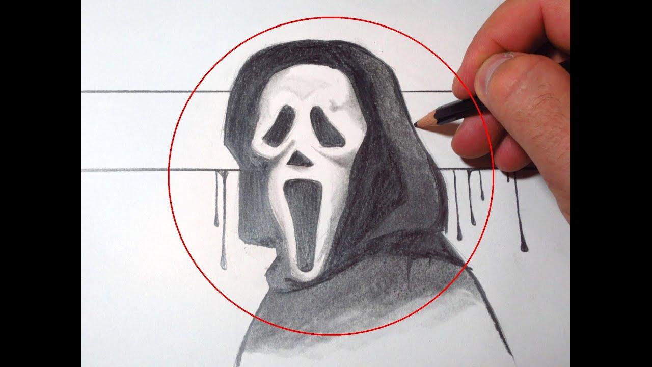Как сделать маску крика на бумаге