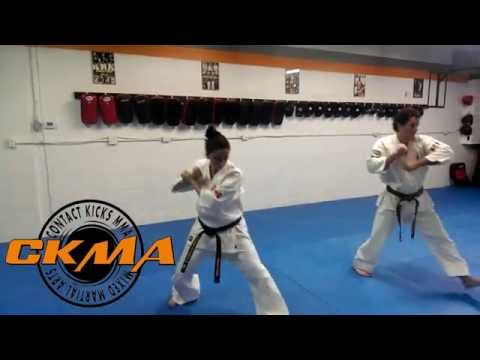 Kyokushin Karate training while 6 months pregnant Image 1