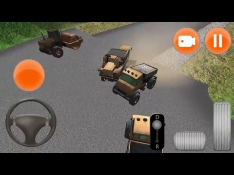 Let's play Road Construction Simulator 3D - iOS and Android gameplay video