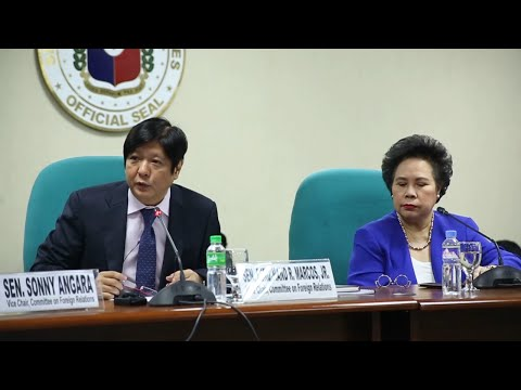 Sen. Bongbong Marcos - Committee on Foreign Relations hearing on EDCA, 1 December 2014