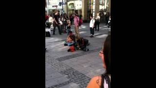 Many rivers to cross cover (Live in Munich by a street artist)