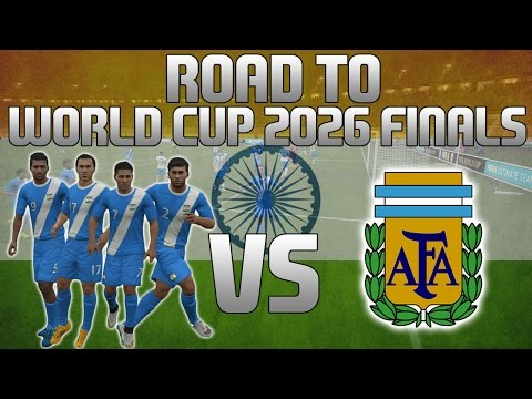 FIFA 16 | Road To The World Cup 2026 Finals! | Episode 4 | ARGENTINA!