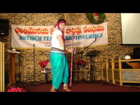 Hindi Christian Folk Song /  Sunlo Mere Bhaio / Dance By Praveen Raj