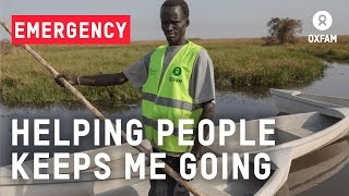Gabrial: the boatman of South Sudan