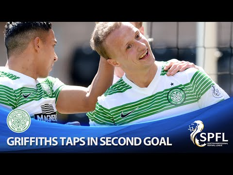 Griffiths taps in from close range on way to hat-trick