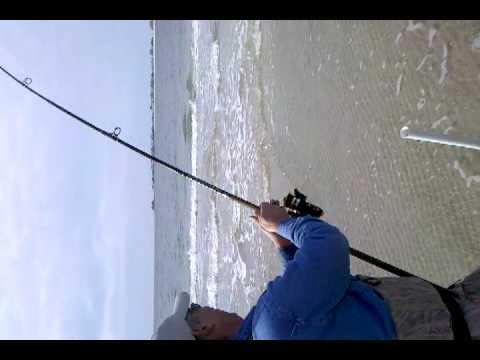 Surf fishing san luis pass tx youtube for San luis pass fishing