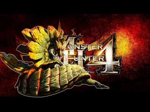 Monster hunter 4 GARARA AJARA Intro ガララアジャラ Wring Snake Wyvern MH4