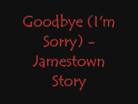 Jamestown Story - Goodbye Im Sorry