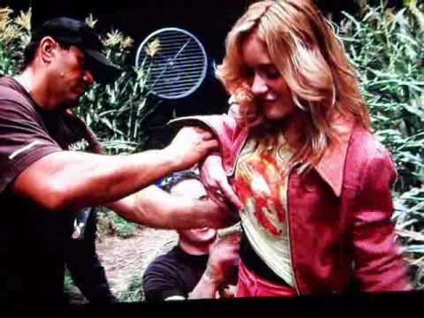 AJ Michalka - 'The Lovely Bones' Behind the Scenes