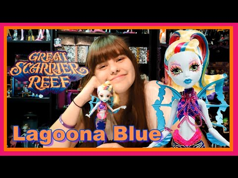 Monster High Lagoona Blue Great Scarrier Reef Doll Review   WookieWarrior23