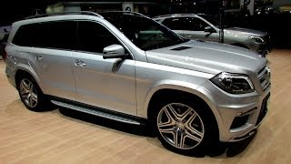 2014 Mercedes-Benz GL-Class GL500 4-Matic – Exterior and Interior Walkaround-2014 Geneva Motor Show