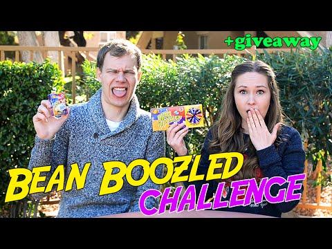 БИН БУЗЛД ЧЕЛЛЕНДЖ + GIVEAWAY // Bean Boozled Challenge
