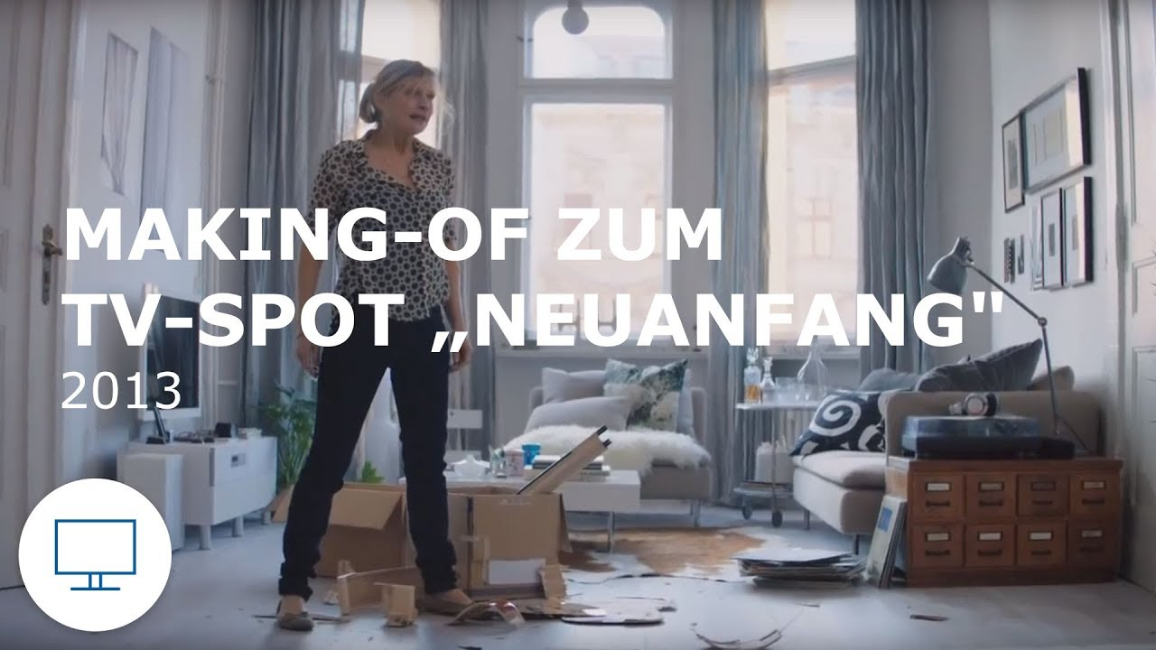 ikea werbung making of zum tv spot neuanfang 2013 youtube. Black Bedroom Furniture Sets. Home Design Ideas
