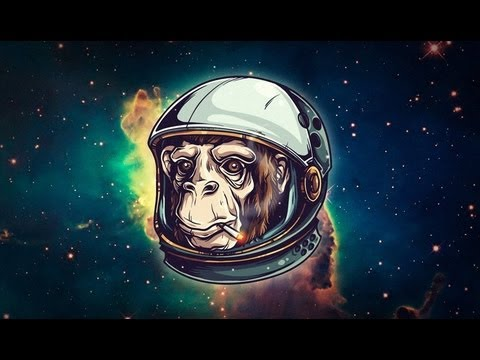 Adobe Illustrator Tutorial: How to Draw an Astrochimp
