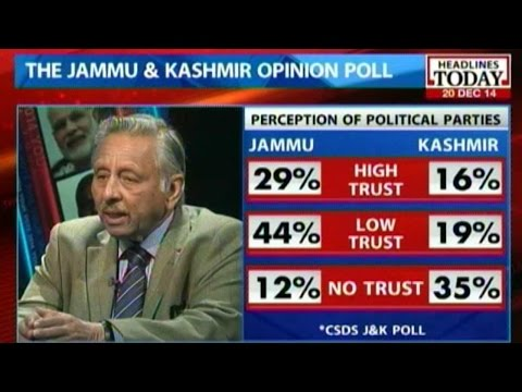 Opinion poll: Mufti Mohammad Sayeed favorable in Jammu Kashmir