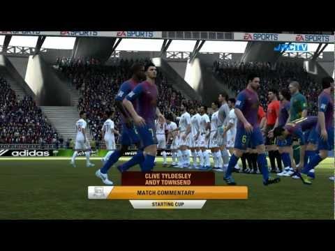FIFA 12 - Starting Cup - Barcelona vs. Roma