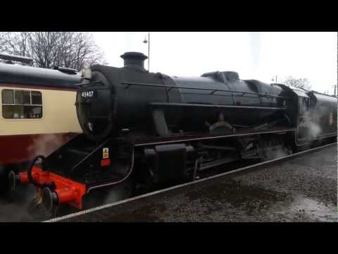 North Norfolk Railway Steam Gala ¦ March 2013
