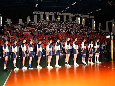 Mecz Reprezentacji Polski W Siatkówce Mężczyzn Z Białorusią  - Jaworzno 07.05.2004