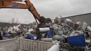 Making Money Off Your Junk Steel Metal Christmas Tree And More At S & S Scrapyard Metal Recyclers II