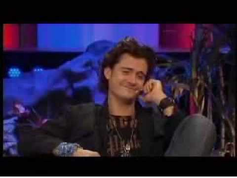Orlando bloom interview **EAT SHIT AND DIE**