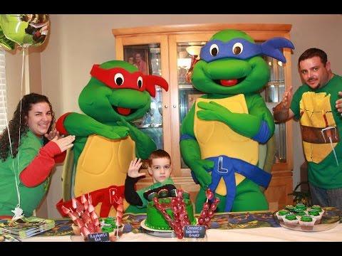 Ninja Turtles Party Ideas   866-434-4101