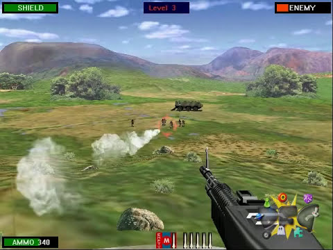 Beach Head 2002 Gameplay Video - Download Free Games