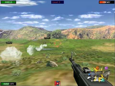 Beach Head 2002 Gameplay Video - Download Free Games