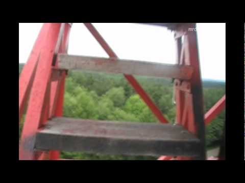 Another trip onto the FireTower, Mohican State Park, Loudonville Ohio