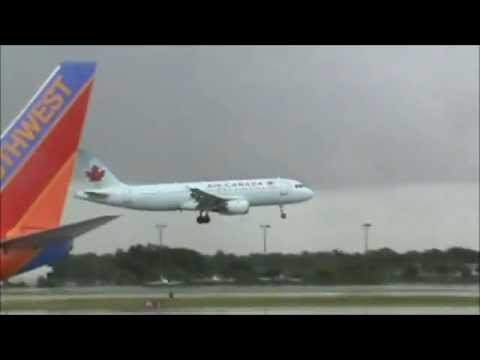 Close incursion! Two planes nearly collide at Fort Lauderdale Airport!