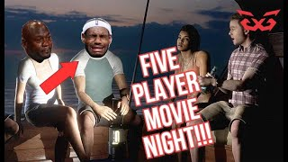 5 PLAYER Man of Medan: MOVIE NIGHT Live Reaction! Part 1