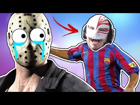 HEITIRNALDINHO VS JASON!! - Friday the 13th: The Game